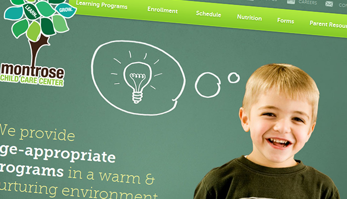 Custom Child Care / Daycare Website Design