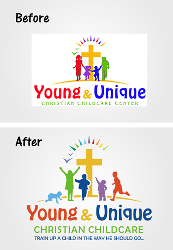 Examining a Child Care Logo Redesign Project