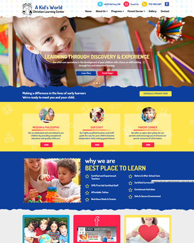 Early Learners - Our Latest New Theme!