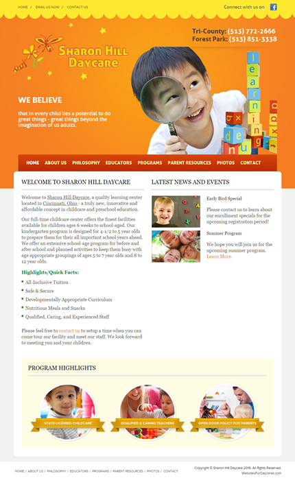 Child Care Website Templates Daycare Website Templates Websites