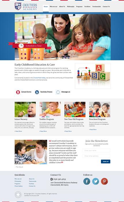 Custom Daycare Website Design Child Care Websites Websites For Daycares